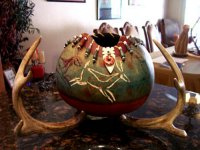 Barbara Carpenter Gourd Art 07